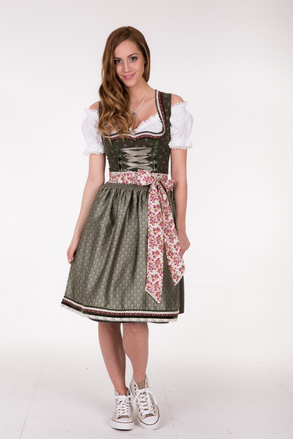 kr ger madl dirndl green garden 70 cm dquadrat. Black Bedroom Furniture Sets. Home Design Ideas