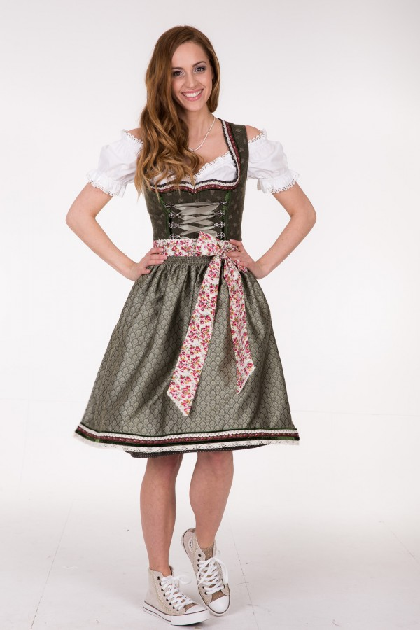 kr ger madl dirndl green garden 50 cm dquadrat. Black Bedroom Furniture Sets. Home Design Ideas